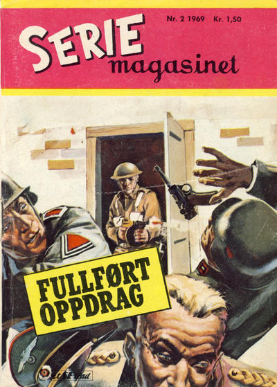 Cover for Seriemagasinet (Serieforlaget / Se-Bladene / Stabenfeldt, 1951 series) #2/1969