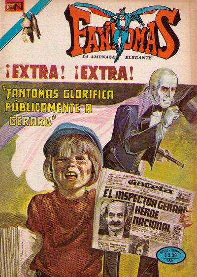 Cover for Fantomas (Editorial Novaro, 1969 series) #207