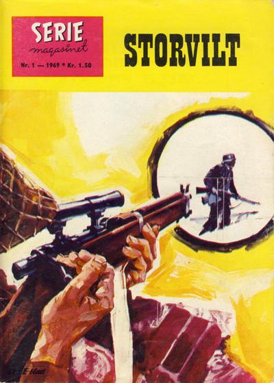 Cover for Seriemagasinet (Serieforlaget / Se-Bladene / Stabenfeldt, 1951 series) #1/1969