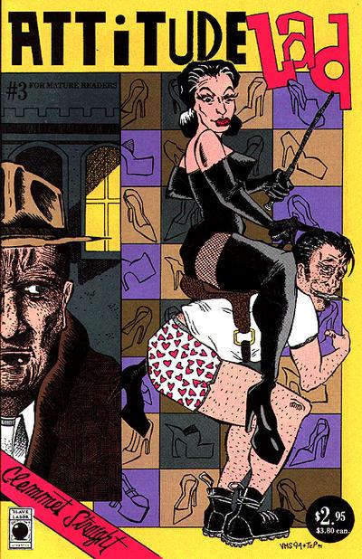 Cover for Attitude Lad (Slave Labor, 1994 series) #3