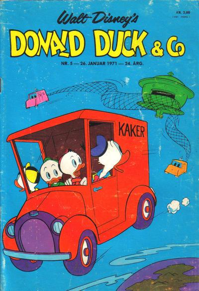 Cover for Donald Duck & Co (Hjemmet / Egmont, 1948 series) #5/1971