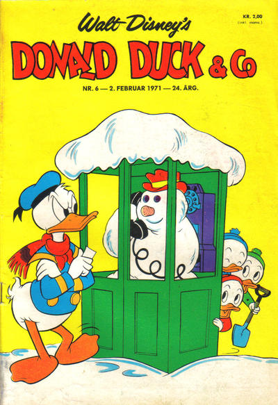 Cover for Donald Duck & Co (Hjemmet / Egmont, 1948 series) #6/1971
