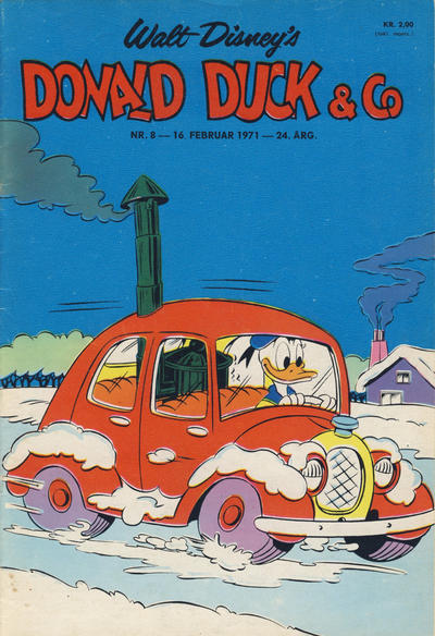 Cover for Donald Duck & Co (Hjemmet / Egmont, 1948 series) #8/1971