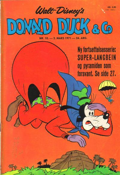 Cover for Donald Duck & Co (Hjemmet / Egmont, 1948 series) #10/1971