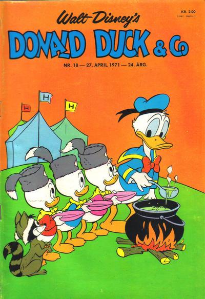 Cover for Donald Duck & Co (Hjemmet / Egmont, 1948 series) #18/1971