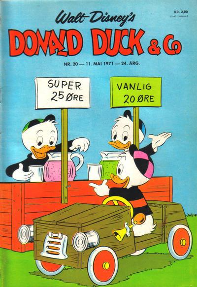 Cover for Donald Duck & Co (Hjemmet / Egmont, 1948 series) #20/1971