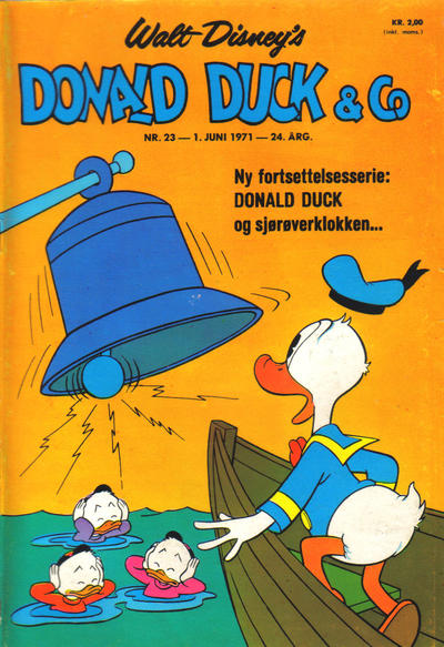 Cover for Donald Duck & Co (Hjemmet / Egmont, 1948 series) #23/1971