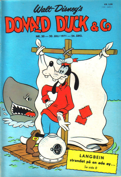 Cover for Donald Duck & Co (Hjemmet / Egmont, 1948 series) #30/1971