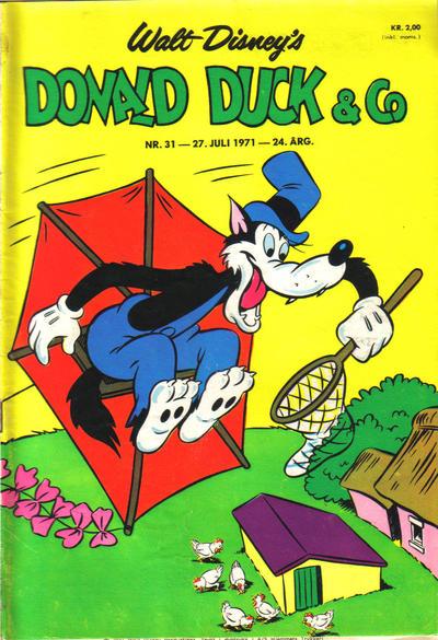 Cover for Donald Duck & Co (Hjemmet / Egmont, 1948 series) #31/1971