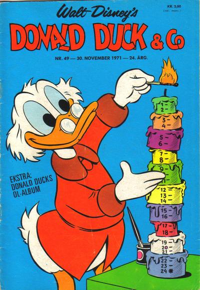 Cover for Donald Duck & Co (Hjemmet / Egmont, 1948 series) #49/1971