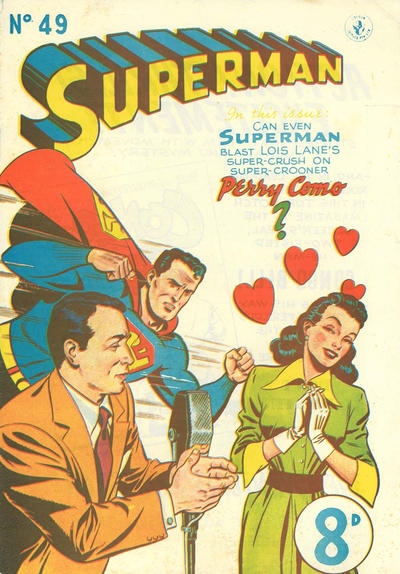 Cover for Superman (K. G. Murray, 1947 series) #49