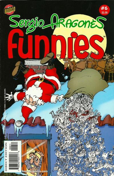 Cover for Sergio Aragonés Funnies (Bongo, 2011 series) #6