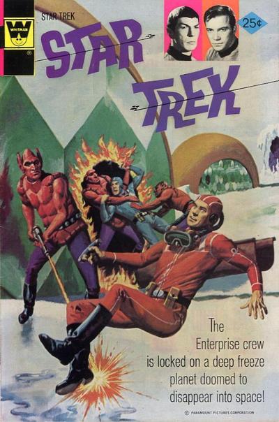 Cover for Star Trek (Western, 1967 series) #27 [Gold Key Variant]