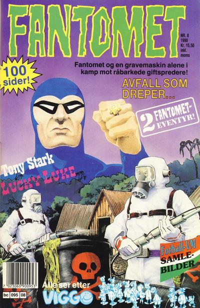 Cover for Fantomet (Semic, 1976 series) #8/1990