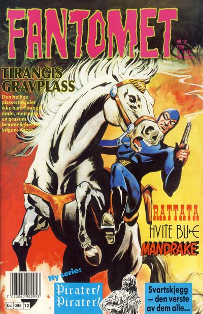 Cover for Fantomet (Semic, 1976 series) #12/1990