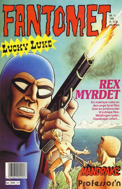 Cover for Fantomet (Semic, 1976 series) #11/1990
