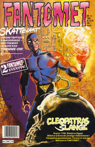 Cover for Fantomet (Semic, 1976 series) #10/1990