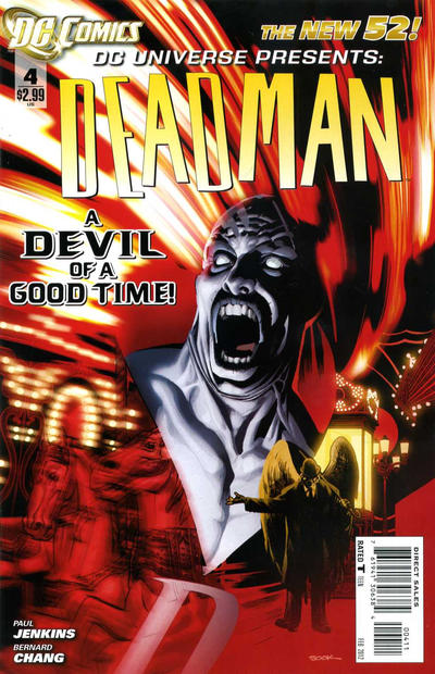 Cover for DC Universe Presents (DC, 2011 series) #4