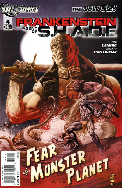 Cover for Frankenstein, Agent of S.H.A.D.E. (DC, 2011 series) #4