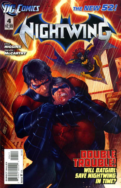 Cover for Nightwing (DC, 2011 series) #4