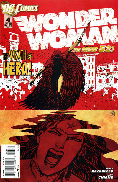 Cover for Wonder Woman (DC, 2011 series) #4