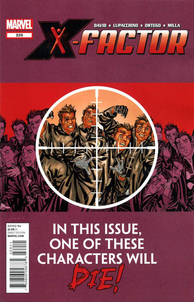 Cover for X-Factor (Marvel, 2006 series) #229