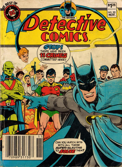Cover for The Best of DC (DC, 1979 series) #30 [Newsstand Edition]