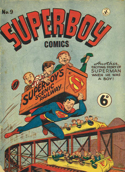 Cover for Superboy (K. G. Murray, 1949 series) #9