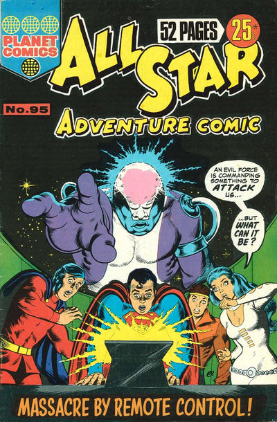 Cover for All Star Adventure Comic (K. G. Murray, 1959 series) #95