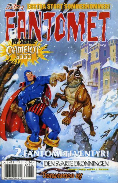 Cover for Fantomet (Hjemmet / Egmont, 1998 series) #14/2000