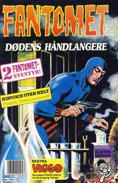 Cover for Fantomet (Semic, 1976 series) #15/1990