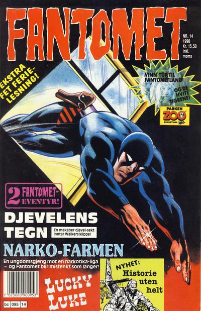 Cover for Fantomet (Semic, 1976 series) #14/1990