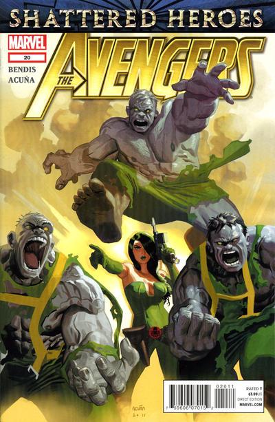 Cover for Avengers (Marvel, 2010 series) #20