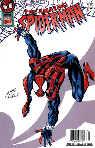 Cover for The Amazing Spider-Man (Marvel, 1963 series) #408 [Direct Edition]