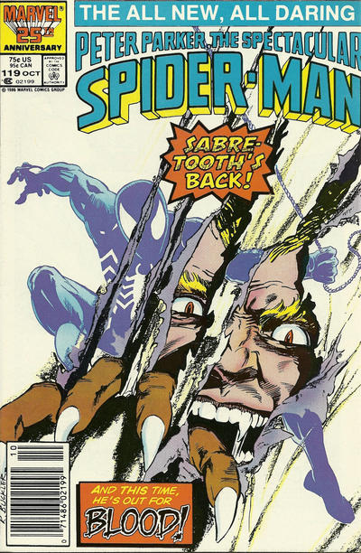 Cover for The Spectacular Spider-Man (Marvel, 1976 series) #119 [direct]