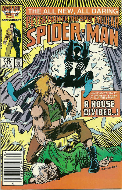 Cover for The Spectacular Spider-Man (Marvel, 1976 series) #113 [newsstand]