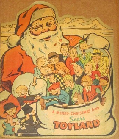 Cover for Merry Christmas from Sears Toyland (Sears Roebuck, 1939 series) #[nn]