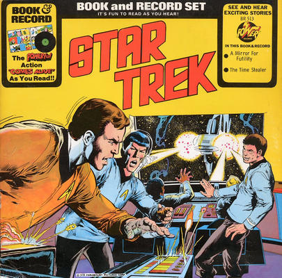 Cover for Star Trek [Book and Record Set] (Peter Pan, 1976 series) #BR513