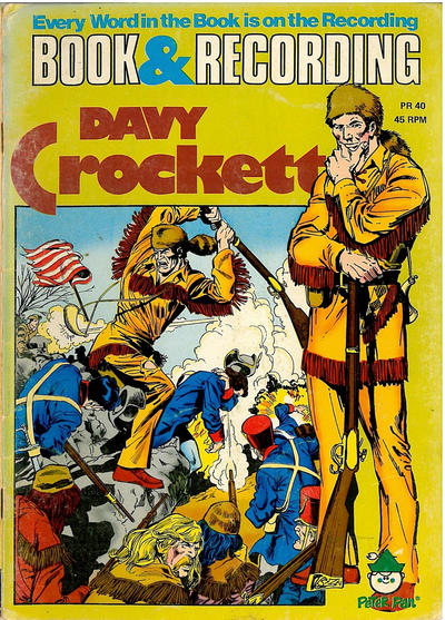 Cover for Davy Crockett [Book and Record Set] (Peter Pan, 1981 series) #PR40