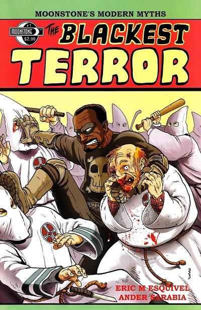 Cover for The Blackest Terror (Moonstone, 2011 series) #1