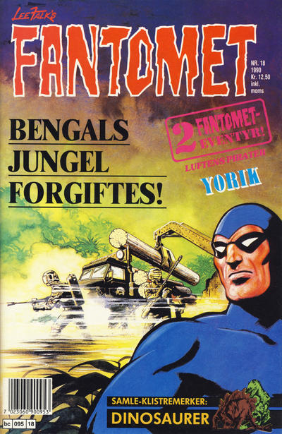 Cover for Fantomet (Semic, 1976 series) #18/1990