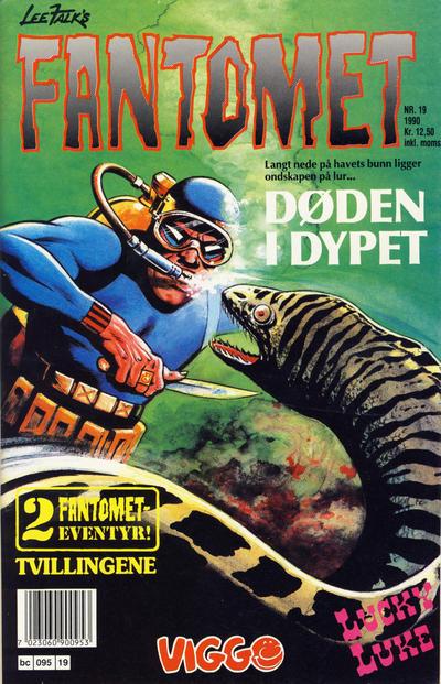Cover for Fantomet (Semic, 1976 series) #19/1990