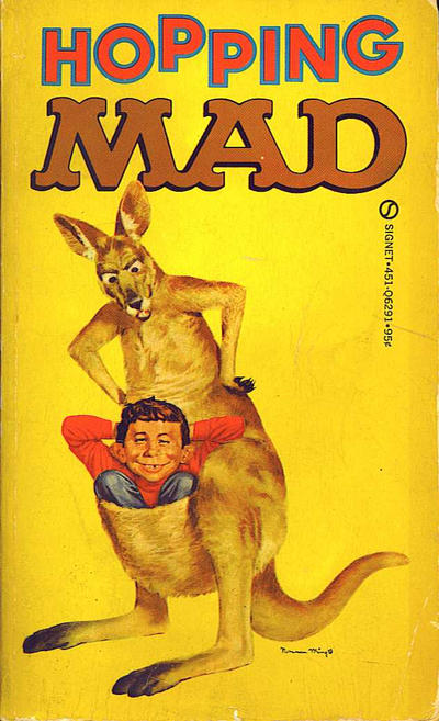 Cover for Hopping Mad (New American Library, 1969 series) #Q6291