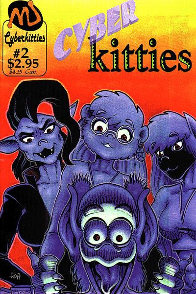 Cover for Cyberkitties (MU Press, 1998 series) #2