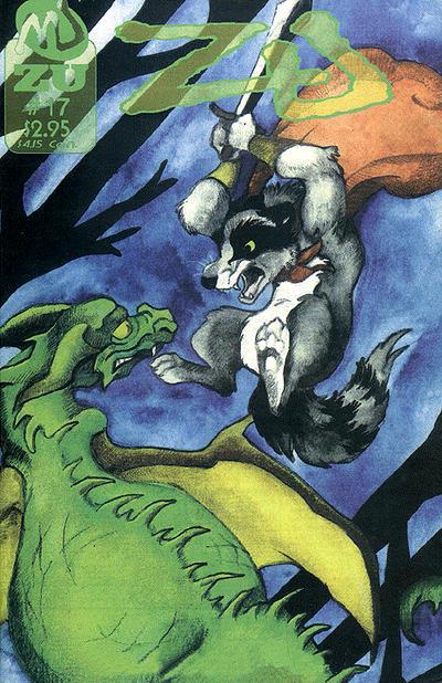 Cover for ZU (MU Press, 1995 series) #17