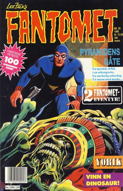 Cover for Fantomet (Semic, 1976 series) #20/1990