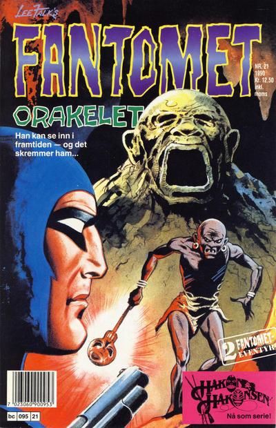 Cover for Fantomet (Semic, 1976 series) #21/1990