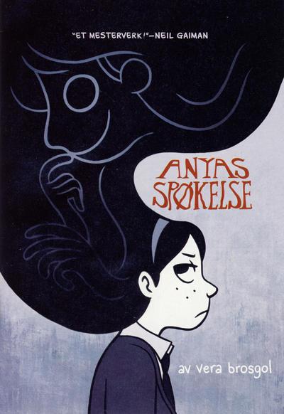 Cover for Anyas spøkelse (Hjemmet / Egmont, 2011 series) #[1]