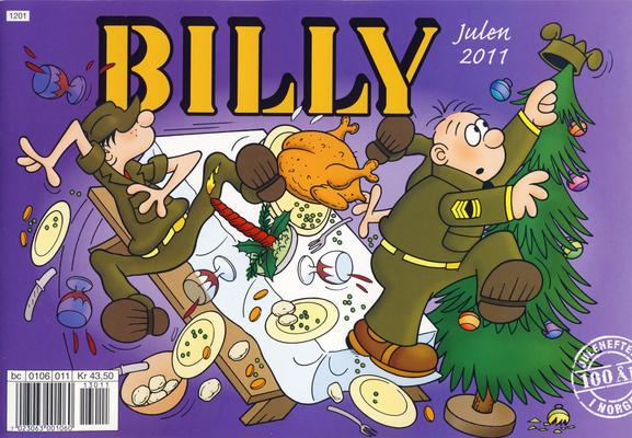 Cover for Billy julehefte (Hjemmet / Egmont, 1970 series) #2011