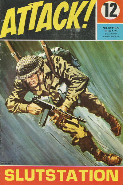 Cover for Attack (Semic, 1967 series) #12/1970